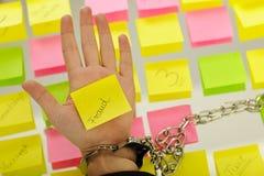 Fraude y castigo Fotografía de archivo libre de regalías