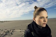 Frauenüberwachen Stockfotografie