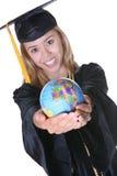 Frauen-Absolvent lizenzfreie stockbilder
