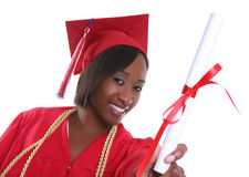 Frauen-Absolvent Lizenzfreies Stockfoto