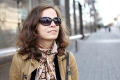 Frauen auf der Straße Lizenzfreies Stockbild