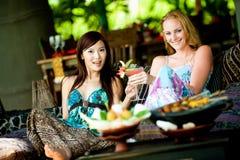 Frauen auf Ferien Lizenzfreie Stockfotos