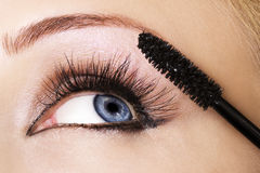 Frauen-Auge Lizenzfreies Stockbild