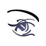Frauen-Auge - vektorkunst Stockfoto