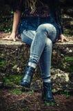 Frauen-Ausstattung Stockfoto