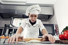 Frauen-Chef stockfoto