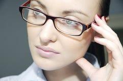 Frauen in den Gläsern Stockbilder