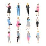 Frauen in der eleganten Bürokleidung Stockfoto