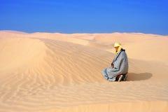 Frauen in desert3 Stockfotografie
