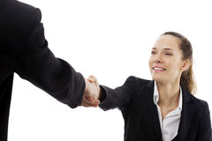 Frauen, die ein Geschäftstreffen haben lizenzfreie stockbilder
