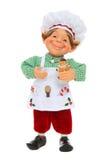 Frauen-Elf-Kochen stockfoto
