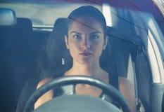 Frauen-Fahren Stockbild