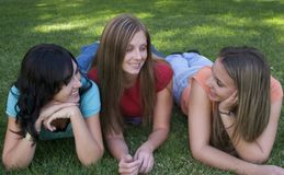 Frauen-Freunde Lizenzfreies Stockfoto