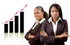 Frauen im Geschäft Lizenzfreies Stockfoto