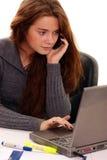 Frauen im Geschäft lizenzfreie stockfotos