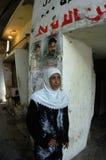 Frauen im palästinensischen Lager lizenzfreie stockfotos