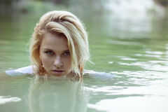Frauen im Wasser Stockfoto