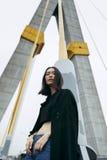 Frauen-Jugendlich-Porträt-Hippie-Art-Konzept Lizenzfreie Stockbilder