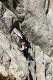 Frauen-Klettern Lizenzfreie Stockfotos