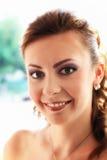 Frauen-Lächeln Lizenzfreies Stockbild
