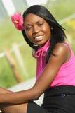 Frauen-Lächeln Stockfotos