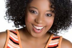 Frauen-Lächeln Stockfoto
