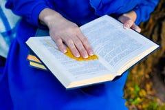 Frauen lasen Buch Lizenzfreies Stockfoto