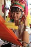 FRAUEN LONGNECK ASIENS THAILAND CHIANG MAI Lizenzfreie Stockfotografie