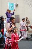 Frauen März Ashevilles NC Lizenzfreies Stockbild