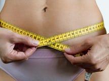 Frauen-messende Taille 2 Lizenzfreies Stockfoto