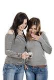 Frauen mit Kamera Lizenzfreie Stockfotos