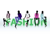 Frauen in Mode Stockbilder