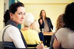 Frauen-nur Seminar Lizenzfreies Stockbild