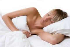 Frauen-Schlafen Stockbilder