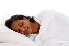 Frauen-Schlafen Lizenzfreie Stockbilder