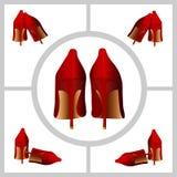 Frauen-Schuhe Stockbild
