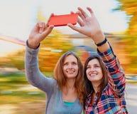 Frauen selfie Lizenzfreie Stockfotografie