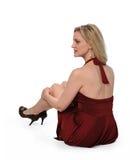 Frauen-Sitzen Lizenzfreie Stockbilder