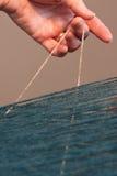 Frauen-Spinnen Lizenzfreies Stockfoto