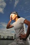 Frauen in Sport 13 Stockbild
