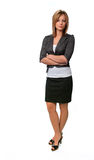 Frauen-Stellung lizenzfreie stockbilder