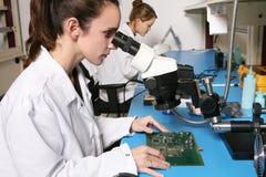 Frauen-Techniker Lizenzfreie Stockfotografie
