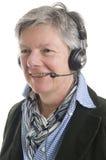 Frauen am Telefon Lizenzfreie Stockfotos