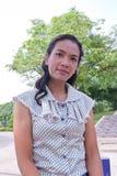 Frauen Thailand in Feiertage. Lizenzfreie Stockfotografie