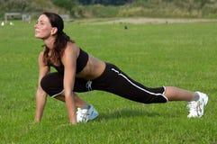 Frauen-Training Lizenzfreies Stockfoto