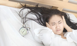 Frauen wachen auf Lizenzfreie Stockfotos