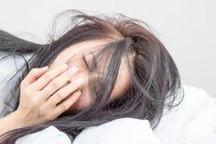 Frauen wachen auf Lizenzfreies Stockfoto