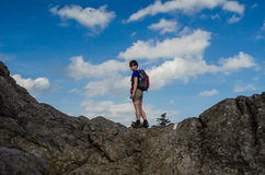 Frauen-Wanderer Lizenzfreie Stockfotografie