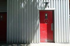 Frauen-Waschraum in Granville Island Stockfotografie