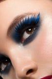 Frauenauge mit Make-up lizenzfreies stockbild